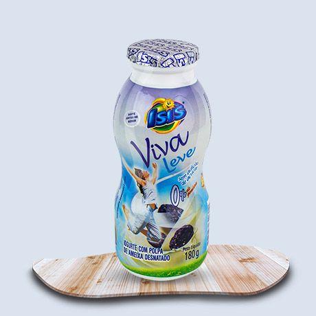 Iogurte Desnatado Isis Viva Leve Ameixa 180g