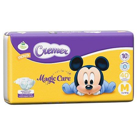 Fraldas Cremer Disney Baby Econômica M com 40 unidades