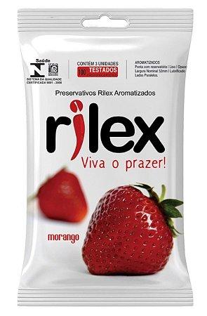 Preservativo Morango Rilex - Camisinha
