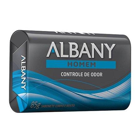 Sabonete em barra Albany Homem Controle de Odor 85g