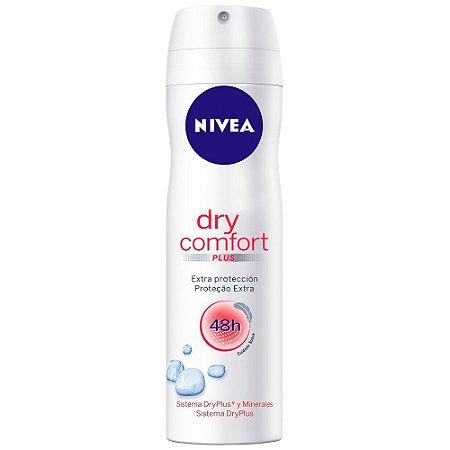 Desodorante Nivea Aerosol Dry Comfort 150ml