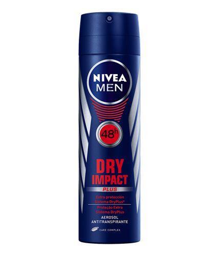 Desodorante Antitranspirante Aerosol Dry Impact Plus 150ml