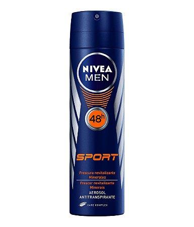 Desodorante Aerosol Nivea For Men Sport 150ml