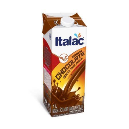 Achocolatado Líquido com Tampa ITALAC 1 Litro