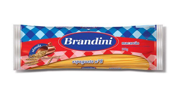 Macarrao Brandini Espaguete Semola 500g