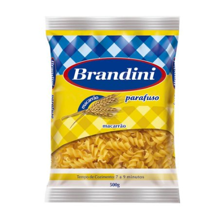 Massa Brandini Parafuso 500g