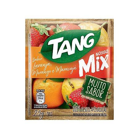 Refresco em Pó TANG Mix Laranja, Morango e Maracujá 25g
