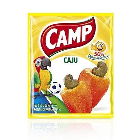Refresco em Pó Sabor Caju Camp 15g