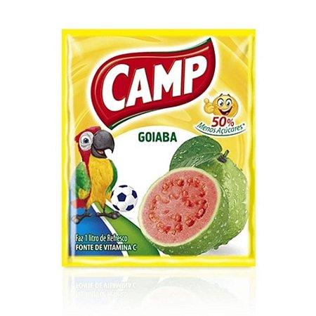 Refresco em Pó sabor Goiaba Camp 15g
