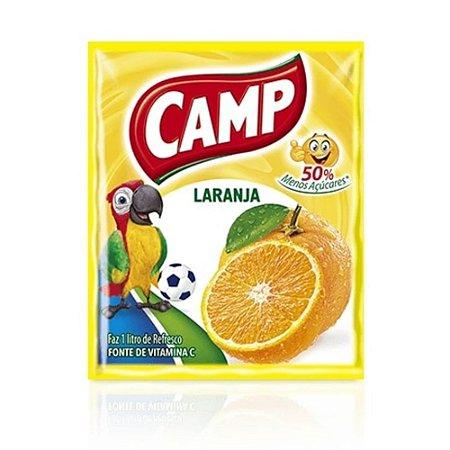 Refresco em Pó sabor Laranja Camp 15g