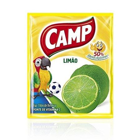 Refresco em Pó sabor Limão Camp 15g