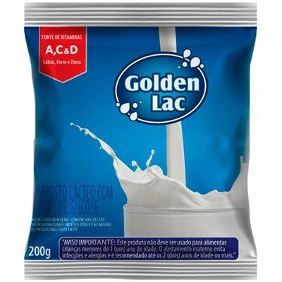 Composto Lácteo Golden Lac com Xarope de Glisose 200g