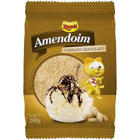 Amendoim Torrado Granulado Zaeli 200g