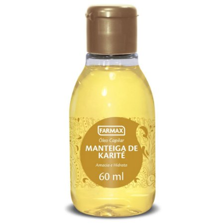 Óleo Capilar Manteiga de Karité Farmax 60ml