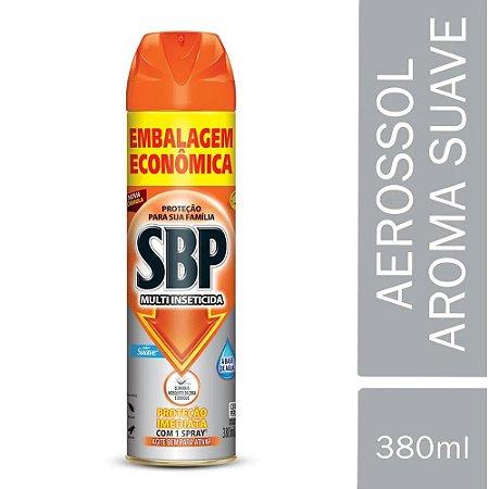 Inseticida Aerosol Mata Inseto Suave SBP 380ml