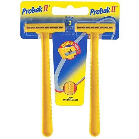 Barbeador Descartavel Probak II 2 Unidades