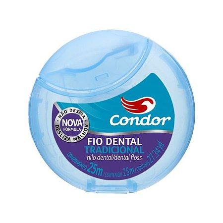 Fio Dental Tradicional Condor 25m