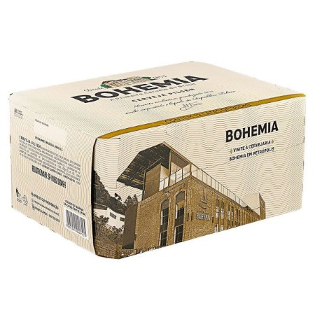 Cerveja BOHEMIA Fardo 12 Lata 350ml