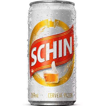 Cerveja Schin Pilsen Lata 269ml