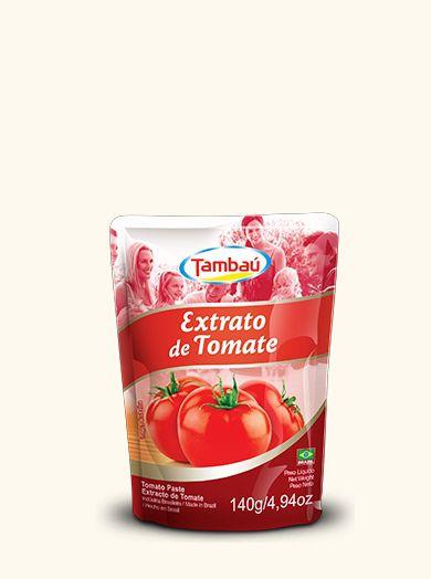 Extrato de Tomate Tambaú Sach 140g