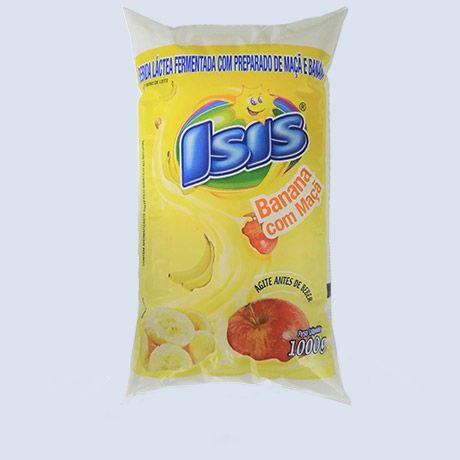 Bebida Láctea Isis Sach Banana com Maçã 900ml
