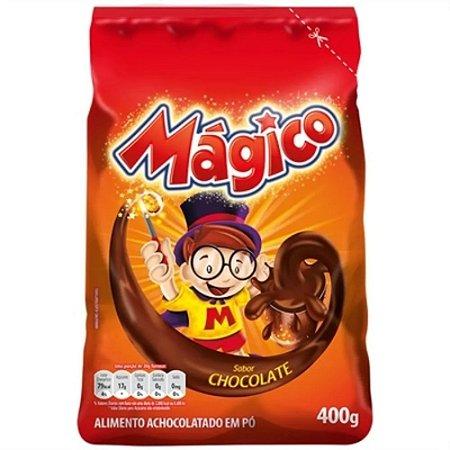 Achocolatado em pó Mágico sachê 400g