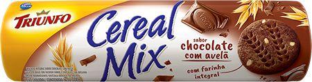 Biscoito Cereal Mix Chocolate e Avelã Triunfo 200g