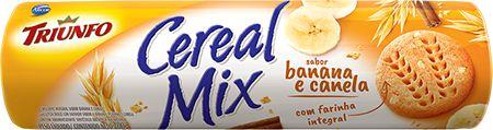 Biscoito Cereal Mix Banana e Canela Triunfo 200g