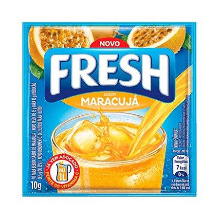 Refresco Fresh Em Pó Sabor Maracujá 10g