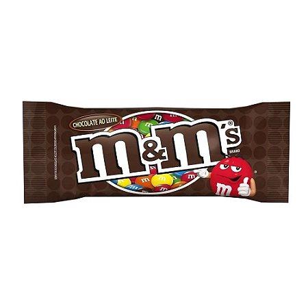 Confeitos M&M Chocolate ao Leite 45g
