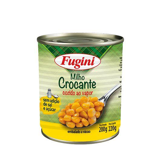 Milho Crocante Fugini Lata 200g
