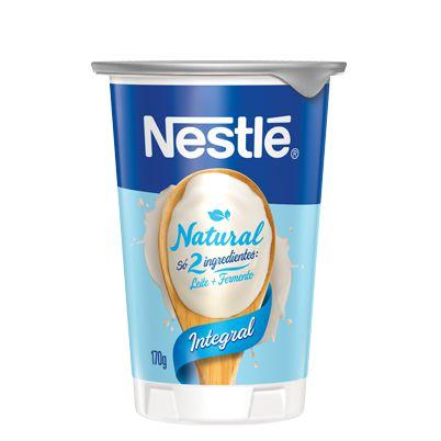 Iogurte Natural Integral Nestlé 170g