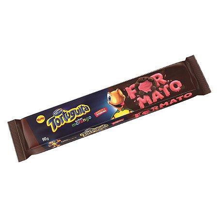Biscoito Tortinha Tortuguita Morango 90g