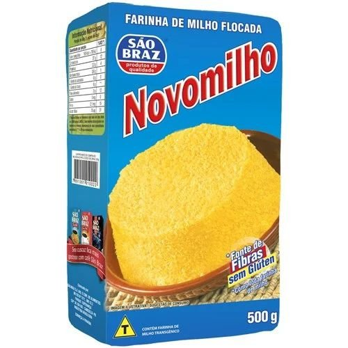 Flocão De Milho Novomilho 500g