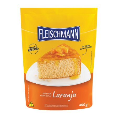 Mistura para Bolo Laranja Fleischmann 450g