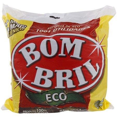 Bombril esponja de aço 8 und