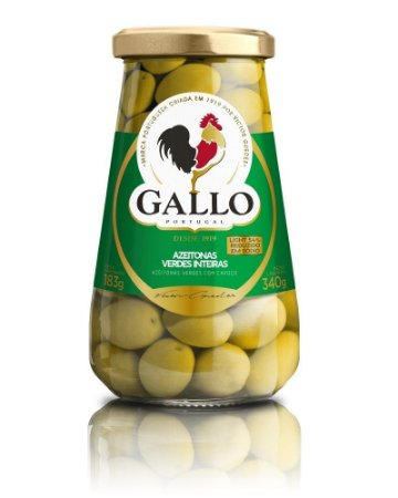 Azeitona Gallo verde int 340g