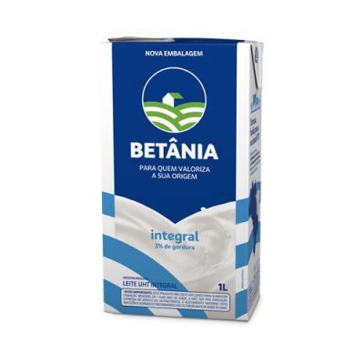 Leite UHT Integral Betânia 1 Litro