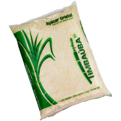 Açúcar Cristal Timbaúba 1Kg