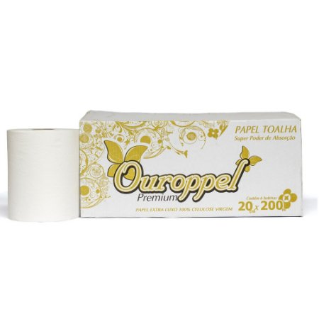 Papel Hig. Interfolha Ouropel Supreme Extra Luxo F.D. 10X20 c/8000