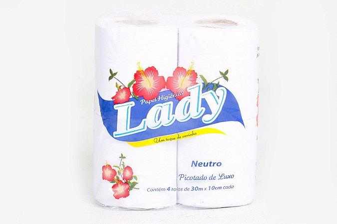 Papel Higiênico Lady 8x8x30mts