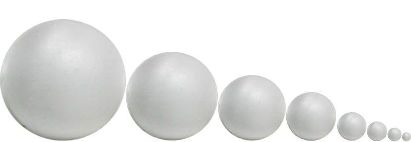 Bola de Isopor 100 mm C/10
