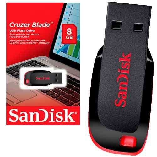 Pen Driver Sandisk 8 gb