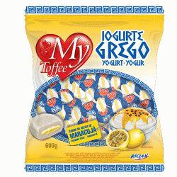 Bala My Toffee Io Grego Maracujá 600g