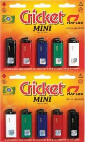Isqueiro Mini Cricket CRT C/10 UNI