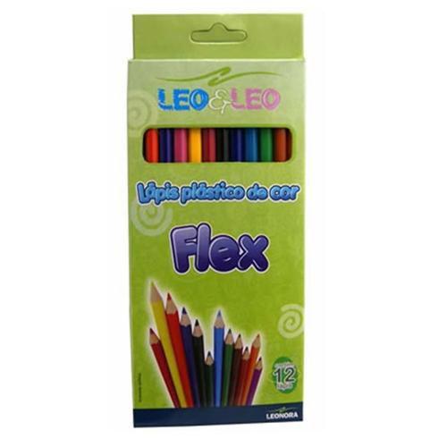 Lápis de Cor Leo & Leo C/12 cores Pct C/6
