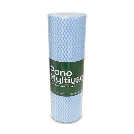Pano Multiuso Slim Pacotão C/120 UNI 30cmx50cm Azul