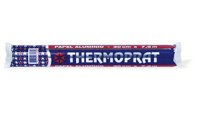 Papel Aluminio 7,5x45 Thermoprat Rolo