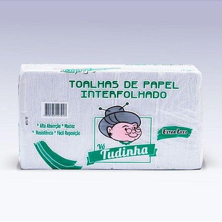 Papel Interfolha Vó Tudinha Luxo 20cmx22cm 1000 folhas