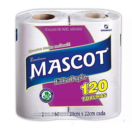 Papel Toalha Mascot 120T 16x2
